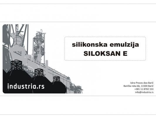 Silikonska emulzija Siloksan E