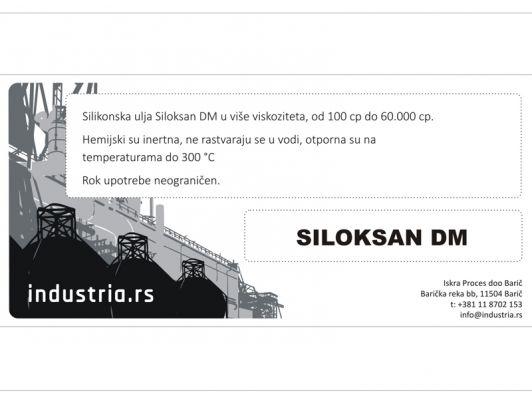 Silikonsko ulje Siloksan DM